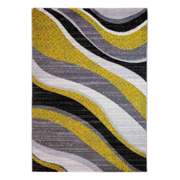 Barcelona C191B_FMF88 sárga modern mintás szőnyeg  60x110 cm