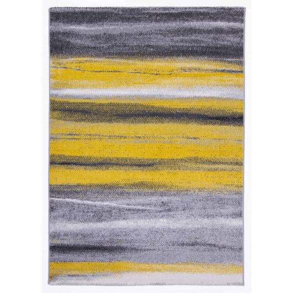 Barcelona C194A_FMF68 sárga modern mintás szőnyeg  60x110 cm