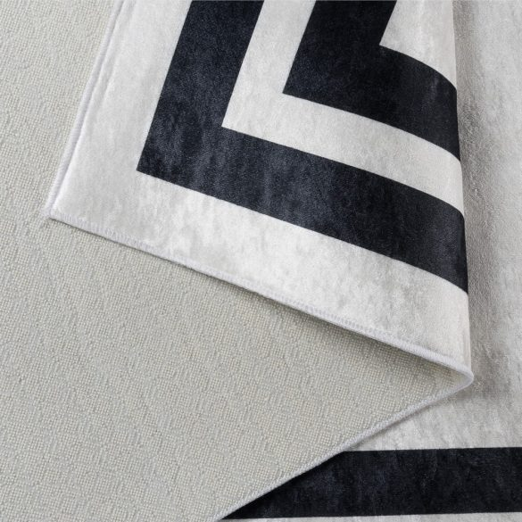 Caimas 2970 fekete-fehér modern mintás szőnyeg 180x 280 cm