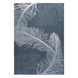 Caimas 2986 kék modern toll mintás szőnyeg 180x 280 cm