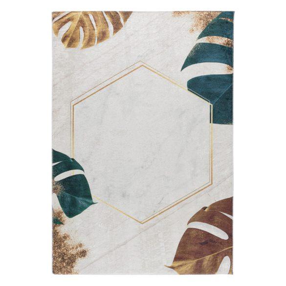 Caimas 2992 modern levél mintás szőnyeg  80x 300 cm