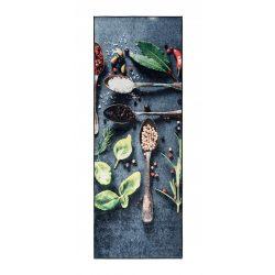 Caimas 3000 konyhai szőnyeg 65x180 cm - fűszer mintás