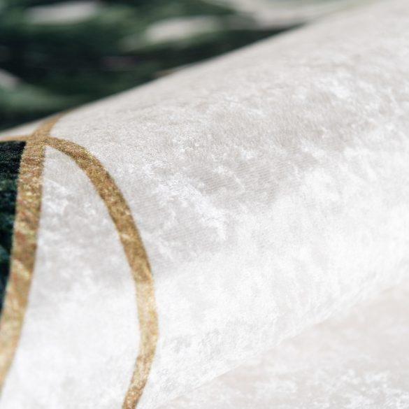 Caimas 5000 modern levél mintás szőnyeg  80x 300 cm