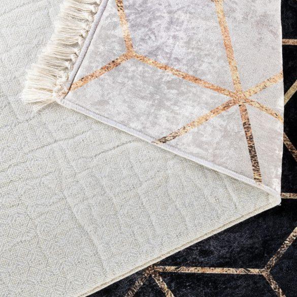 Caimas 5400 modern geometriai mintás szönyeg  80x 300 cm
