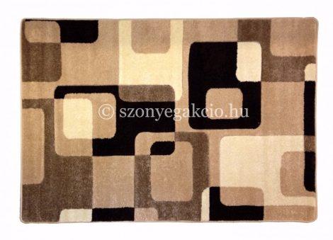 Caramell kockás2 szőnyeg  60x110 cm