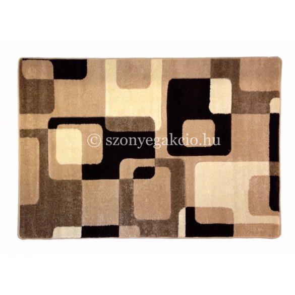 Caramell kockás2 szőnyeg  80x150 cm