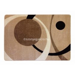 Caramell kétkörös pöttyös szőnyeg 120x170 cm