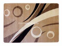 Caramell körös szőnyeg  80x150 cm