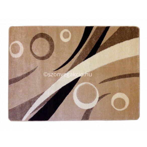 Caramell körös szőnyeg  60x220 cm
