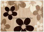 Caramell virágos szőnyeg  60x220 cm
