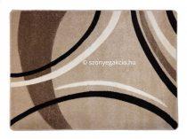 Caramell vonalas szőnyeg  80x150 cm