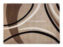 Caramell vonalas szőnyeg 120x170 cm