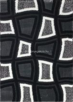 Carnaval 5540 szürke-fekete kockás szőnyeg 140x190 cm