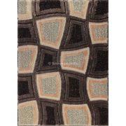 Carnaval 5540 barna kockás szőnyeg 120x180 cm