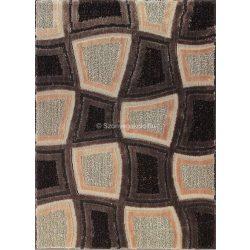 Carnaval 5540 barna kockás szőnyeg 200x290 cm - UTOLSÓ DARAB!