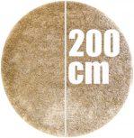 200 cm átmérőjű