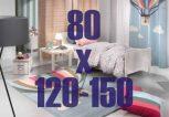 80 X 120-150 cm