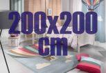 200x200 cm