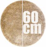 60 cm átmérőjű