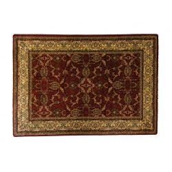 Classic bordó 1861 teli indás rojt nélküli szőnyeg 120x170 cm