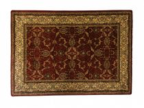 Classic bordó 1861 teli indás rojt nélküli szőnyeg 160x220 cm