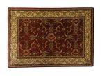 Classic bordó 1861 teli indás rojt nélküli szőnyeg 200x280 cm