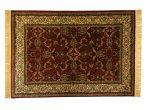 Classic bordó 1861 teli indás szőnyeg  80x150 cm