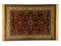 Classic bordó 1861 teli indás szőnyeg 120x170 cm