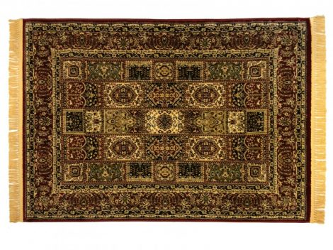 Classic bordó 1862 ablakos szőnyeg  80x150 cm