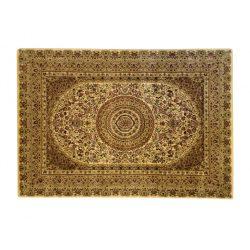 Classic L.Beige 2159 középmintás rojt nélküli szőnyeg  80x150 cm