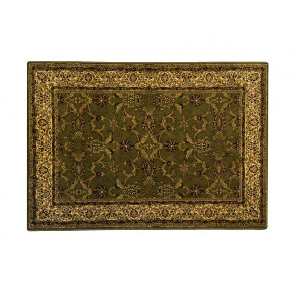 Classic zöld 1861 teli indás rojt nélküli szőnyeg 120x170 cm