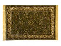 Classic zöld 1861 teli indás szőnyeg  80x150 cm