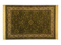 Classic zöld 1861 teli indás szőnyeg 120x170 cm
