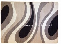 Cream csepp/vízfolyás szőnyeg 160x220 cm