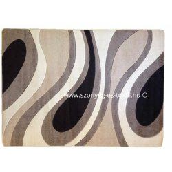 Cream csepp/vízfolyás szőnyeg 120x170 cm