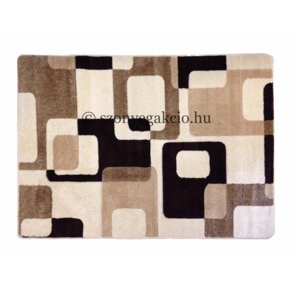 Cream kockás2 szőnyeg  60x110 cm