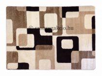 Cream kockás2 szőnyeg 160x220 cm