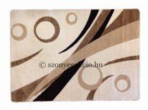 Cream körös szőnyeg  60x110 cm