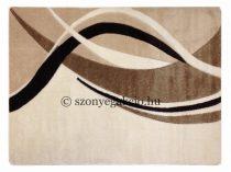 Cream modern vonalas szőnyeg  60x110 cm
