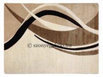 Cream modern vonalas szőnyeg 200x280 cm