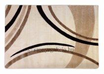 Cream vonalas szőnyeg  60x110 cm