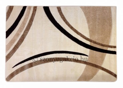 Cream vonalas szőnyeg 120x170 cm