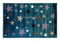 Summer Color Csillagos kék gyerekszőnyeg 150x230