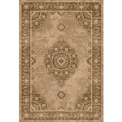 Ottoman D133A_FMA62 barna klasszikus mintás szőnyeg  80x150 cm