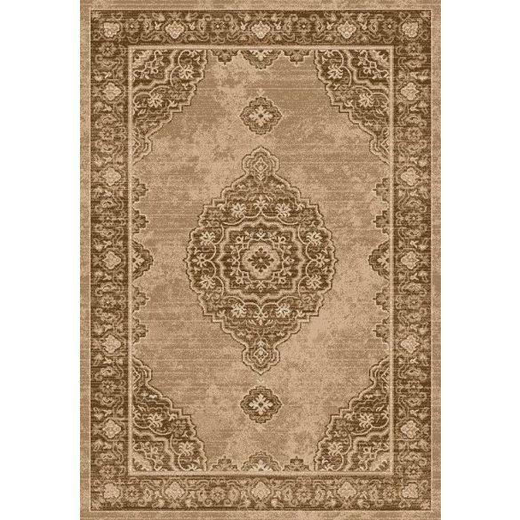 Ottoman D133A_FMA62 barna klasszikus mintás szőnyeg  60x110 cm