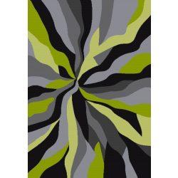 Barcelona D569A_FMF25 zöld modern mintás szőnyeg  80x150 cm