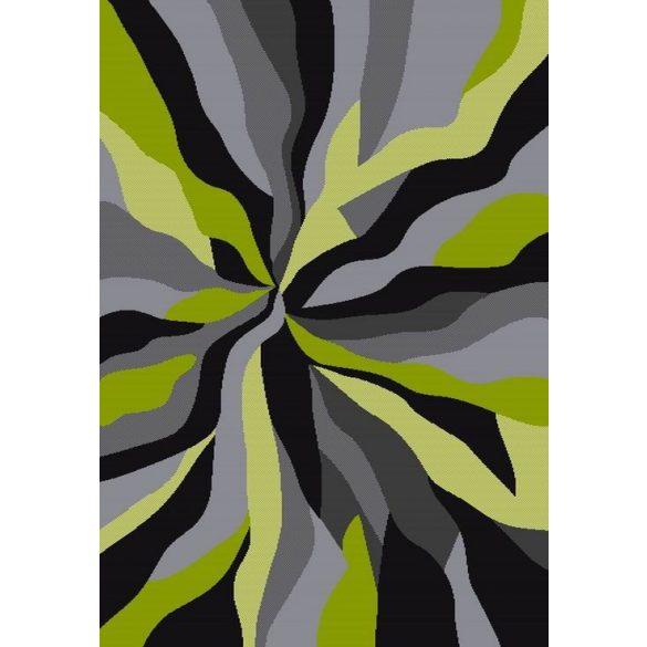 Barcelona D569A_FMF25 zöld modern mintás szőnyeg 200x290 cm