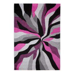 Barcelona D569A_FMF21 lila modern mintás szőnyeg  80x150 cm