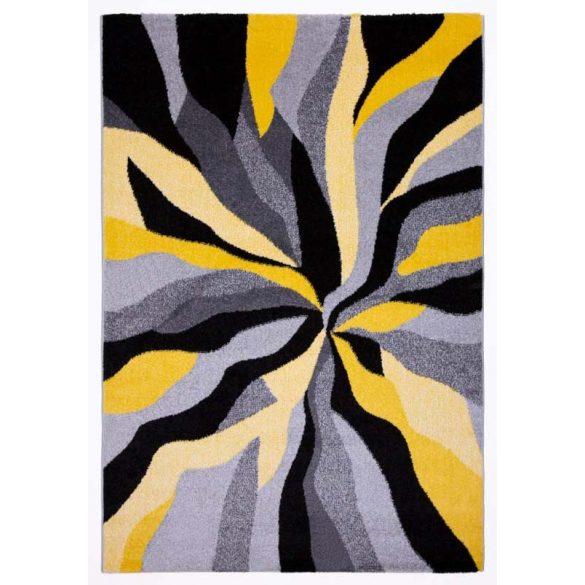 Barcelona D569A_FMF28 sárga modern mintás szőnyeg  60x110 cm
