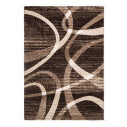 Madrid D731A_FMA27 barna modern kör mintás szőnyeg  80x150 cm